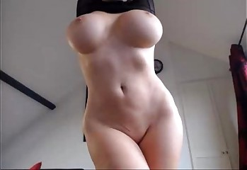 AleXXXa Strips her bodysuit to her perfect tits  - See Her @ FappyCams.com