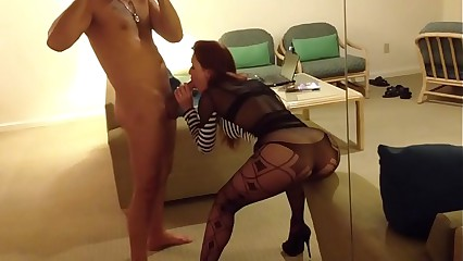 Karli Montana gets fucked in a mirror