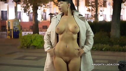 Night Flashing. Walk naked in public.