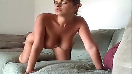 horny girl fucking doggystyle