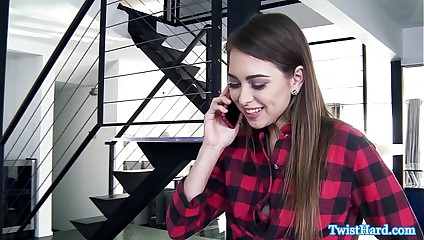 Riley Reid eaten out before doggystyle