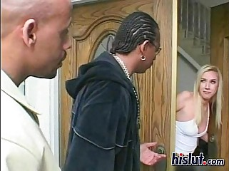 Britney got double rammed
