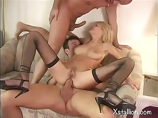 Double penetration of a single whore Vol. 7