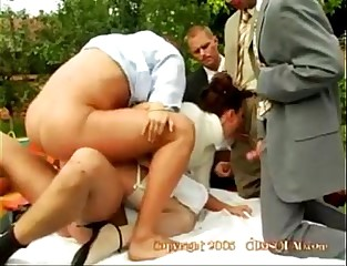Claudia Rossi and 5 Cocks