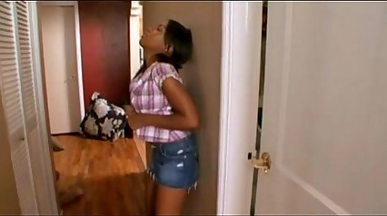 Horny Ass Ebony Stepsister