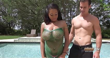 Ebony Milf Big Tits Katt