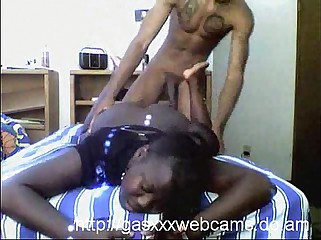 Real ebony whore webcam fucking