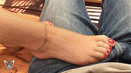 Magic feet of Rossella Visconti