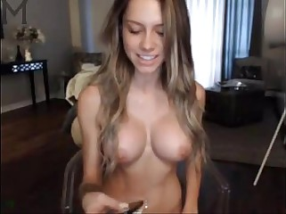 busty fit girl fingering on webcam www.passioncamgirls.com