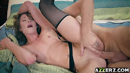 Gorgeous Kirsten Lee first time hardcore fuck