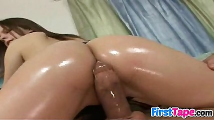 Victoria in her first sex tape