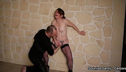 deep fisting for french submissive slut sandy