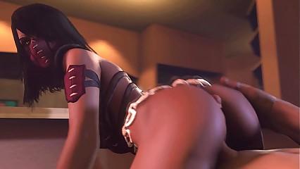 MK Mileena - Sexy Beast