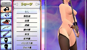 Battle R 2 Yayoi VS Sara Nude Battle