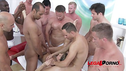 10 man anal gangbang for Gina Gerson SZ993