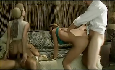 Angelica & Sandra, Anal Orgy