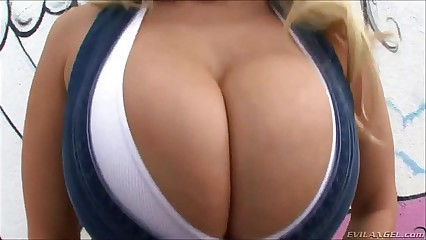 Huge Fake Tits Compilation