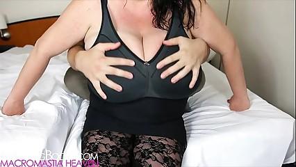 Sabrina Meloni's tits grabbed