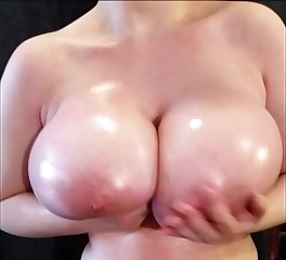 Oily Bouncy Tits ~Tiggle Bitties