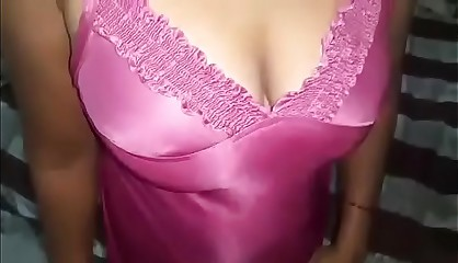 indian wife fucking at night