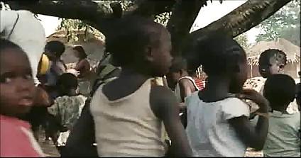 Cynthia van damme interracial sex with african tribesman