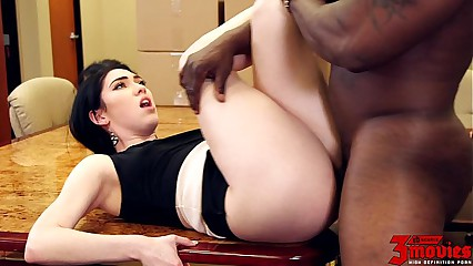 Aria Alexander Interracial At Work