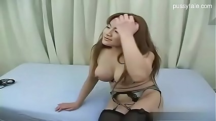 Japanese milf teased and fucked