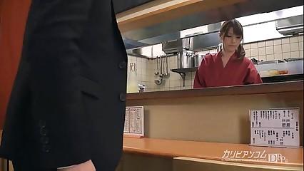 Japanese sexy izakaya service