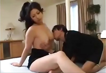 Japanese Busty Mom And Her Own Son