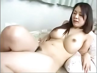 Hot Japanese Milf Fucks Young Boy