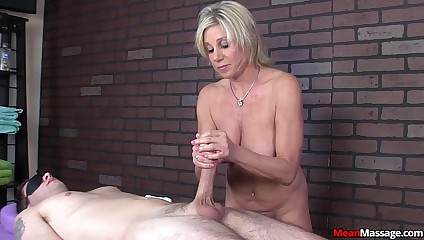 meanmassage-Awesome Dominant Handjob