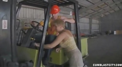Sucking The Worker's Boner