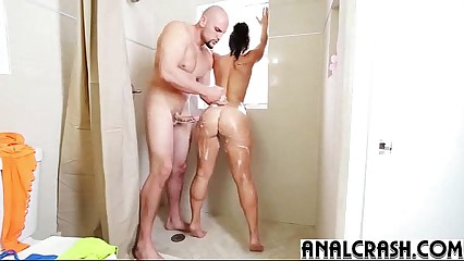 (kelsi monroe) Gorgeous Girl In 1st Anal Hardcore Bang mov-16