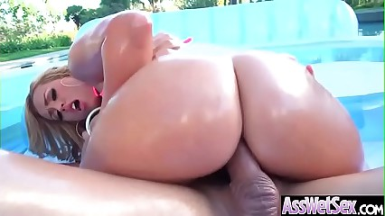 (Kelsi Monroe) Gorgeous Girl With Huge Ass Enjoy Deep Anal Bang clip-22
