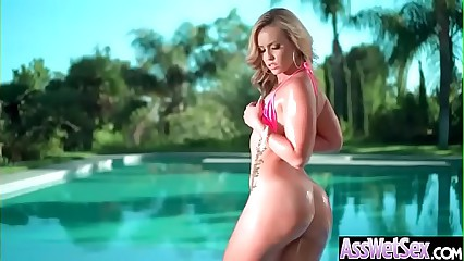 Deep Anal Sex With Big Round Butt Hot Girl (Kelsi Monroe) vid-18