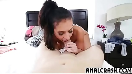 (kelsi monroe) Gorgeous Girl First Time Go For Anal Sex clip-15