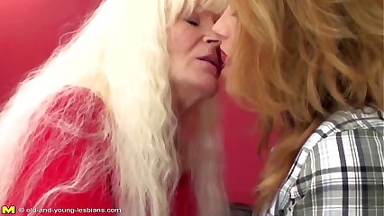Old lesbian granny fucks young sweet lesbian girl.720p -More on LESBIAN-SEX.ML
