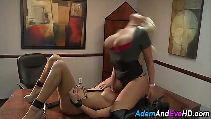 Lesbian bondage babes