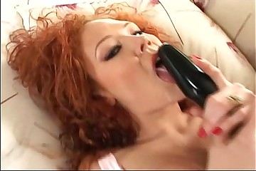 Audrey Hollander anal masturbation