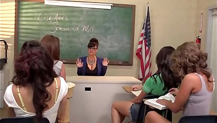 Lisa Ann School Of Milf