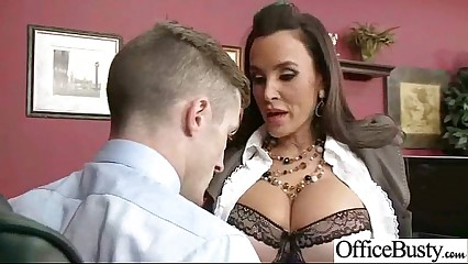 Sex Tape In Office With Big Round Boobs Sexy Girl (lisa ann) video-21