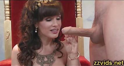 Sweet busty milf Lisa Ann anal fuck