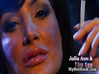 Julia Ann and Lisa Ann are a couple smoking hot  l