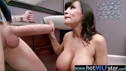 Hot Sex Scene Action With Big Cock Stud Banged By Busty Milf (lisa ann) vid-24