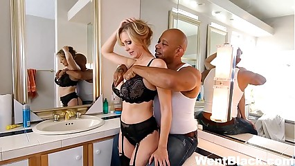 Julia Ann Fucked by Two BBCs