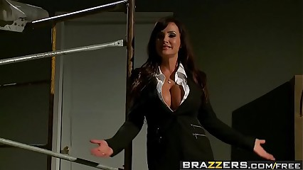 Brazzers - Pornstars Like it Big -  Reservoir Sluts scene starring Lisa Ann, Nikki Benz, Johnny Sins