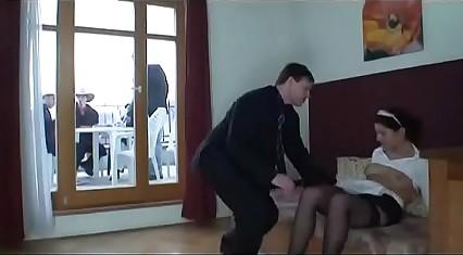 Passionate maid