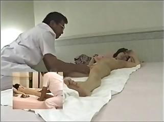 Japanese massage room hidden cam - 10cams.net