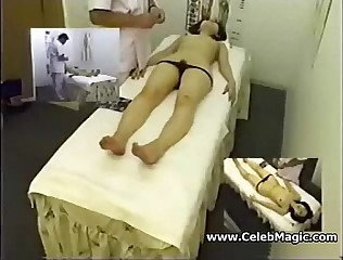 Hidden Cam Asian Massage Masturbate