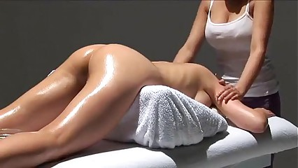 European sensual massage